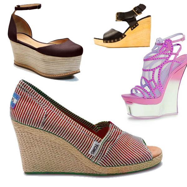 zapatos cuña verano