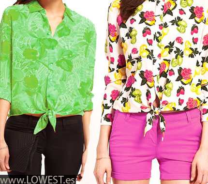 camisas mujer coloridas