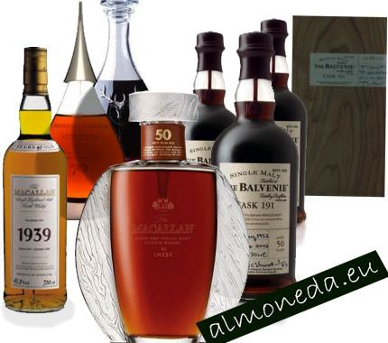 coleccion whisky caros
