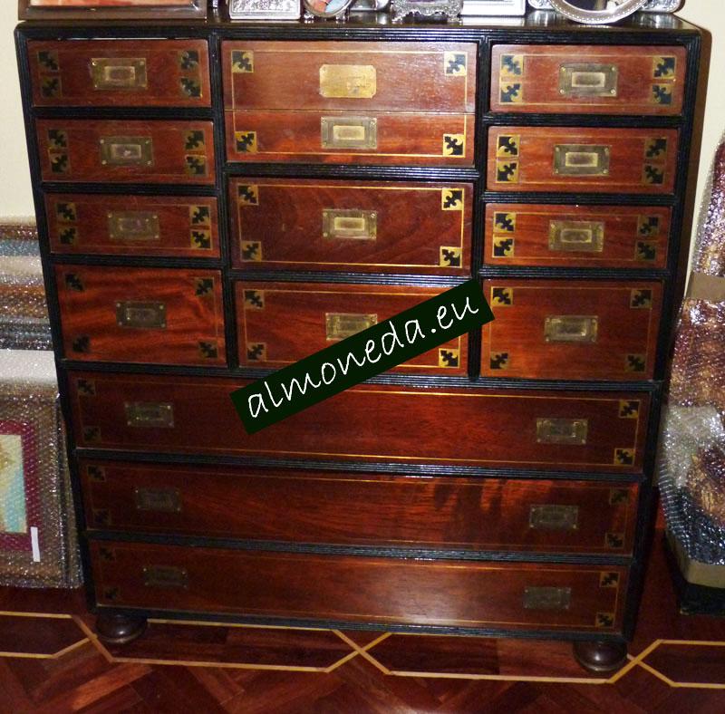escritorio barco antiguo
