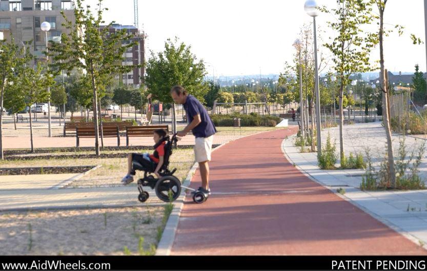 sillas de ruedas electricas hoverboard aidwheels
