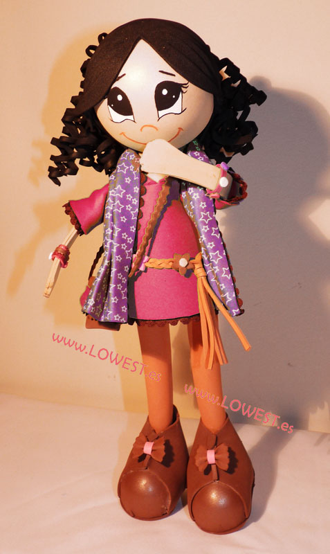 Accesorios para muñecas de goma eva - Imagui