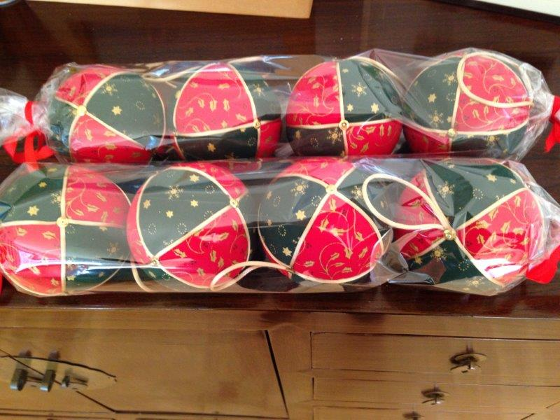 bolas decoradas navidad