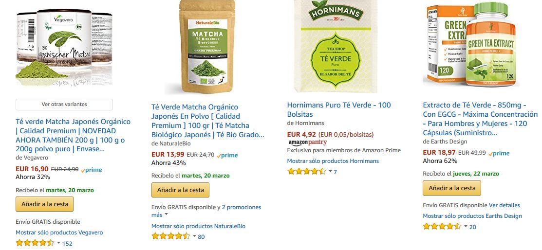 te verde embarazo mejor compra