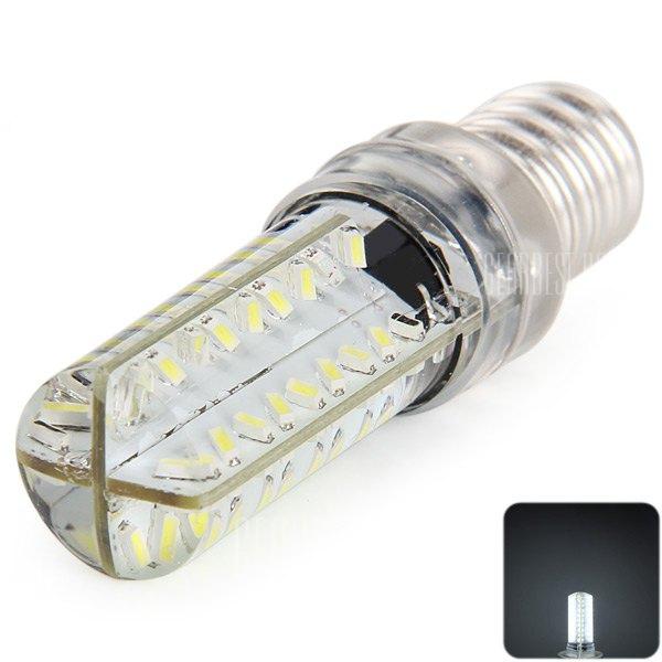 e14 6w 72 x 3014 smd led lampara de maiz de silicona de