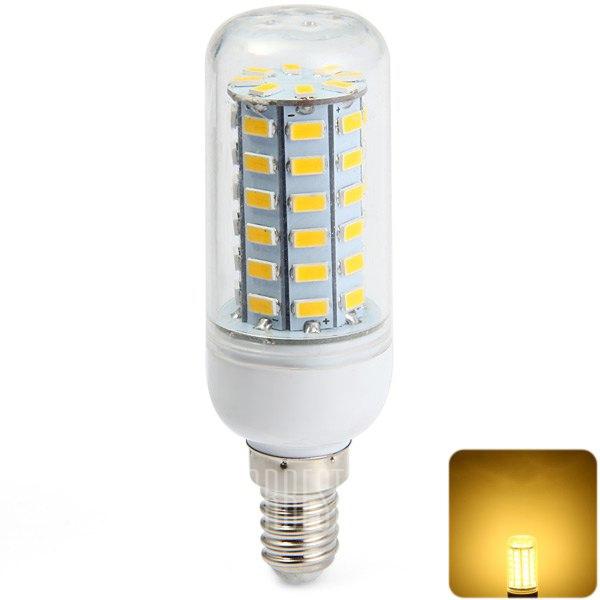 Sencart 2200lm e14 11w smd 5730 de 56 leds de luz blanca for Luz blanca o calida