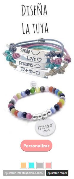 pulseras personalizadas 2017