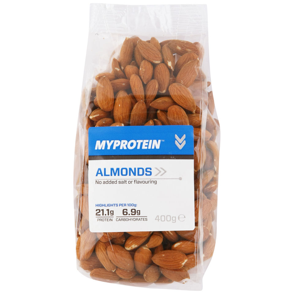 Natural Nuts (Whole Almonds) 100% Natural - 400G