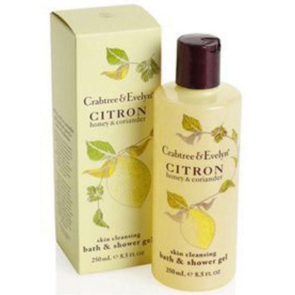 Gel de ducha y baño de limon Crabtree & Evelyn (50ml)