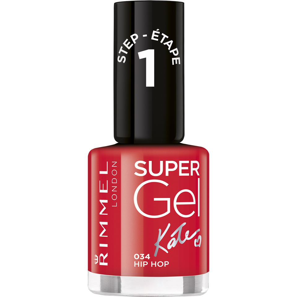 Rimmel Super Gel Nail Polish Duo Kit (2 x 12ml) - Hip Hop
