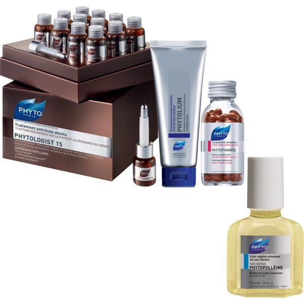 Set Anti-caida de Cabello Phyto Phytologist 15 - para Hombre