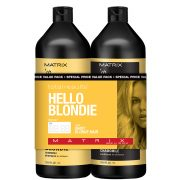 Matrix Biolage Total Results Hello Blondie Shampoo and Conditioner 1L Duo