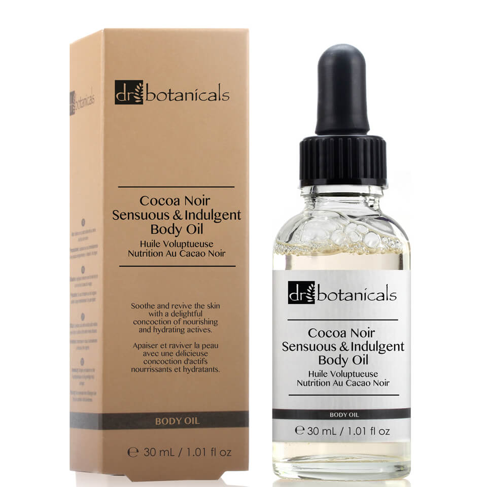 Dr Botanicals Coco Noir Sensuous & Indulgent Body Oil 30ml
