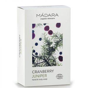 MaDARA Cranberry & Juniper Hand & Body Soap 150g