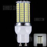 8W GU10 - 180 LED SMD2835 8100 lumenes de luz de maiz con borde de plata ( 6000 - 6500K )