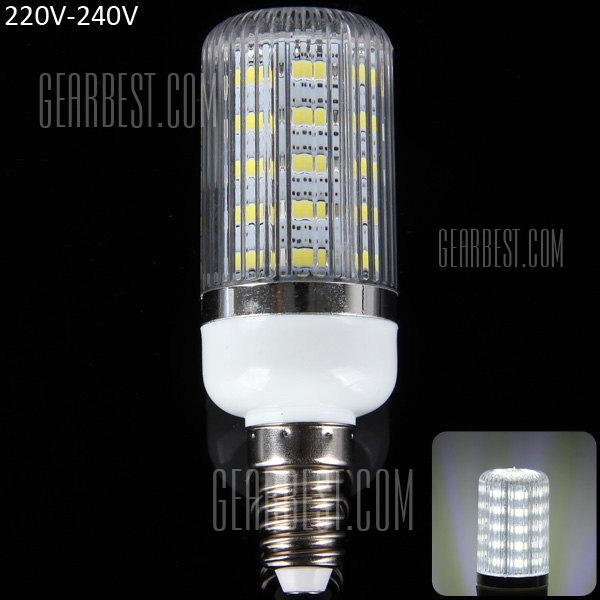 E14 12W SMD - 5630 36 - LED de luz de 1100 lm 6000 - 6500K 220 - 240V rayas creemos sombreada Lampara de maiz