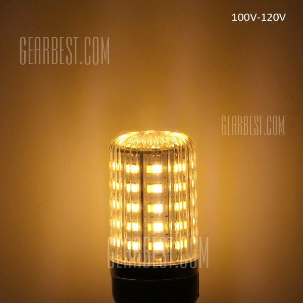 15W E27 1350LM - 5630 48 LED SMD 3000 - 3200K luz super brillante de maiz rayas creemos sombreadas bombilla ( 100 - 120 V )