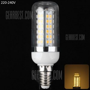 18W E14 - 80 LED SMD2835 1650LM Maiz LED Lampara Bombilla de ahorro de energia 3000 - 3200K