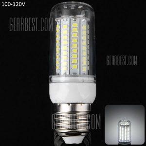 20W E27 - 102 LED SMD2835 1800LM Lampara LED de luz blanca de maiz Plata Lampara Filo 100 - 120V