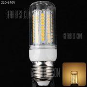 20W E27 - 102 LED SMD2835 1800LM LED Lampara de maiz con filo de plata 220 - 240V