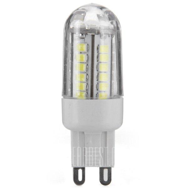 HZLED 460LM G9 3W SMD2835 6000K 42 LED ultra brillantes luces de bombilla de maiz