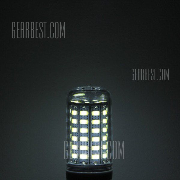 780LM E27 8W 69 - SMD LED Bombilla Daylight 5630 Maiz maiz transparente lampara CA 220 - 240 V