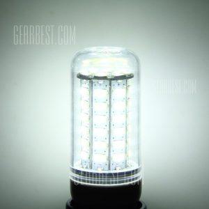 E14 9W 60 SMD 5730 800LM LED de atenuacion de luz ( maiz blanco puro AC 85 - 265V )