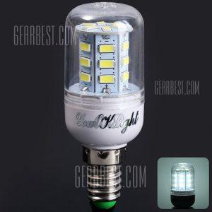 YouOKLight E14 5W 24 400 Lm 5730 SMD LED Luz Blanca Luz de maiz ( 220 - 240 V )