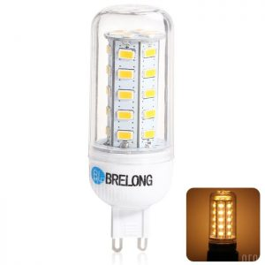 BRELONG G9 7W 5730 900LM LED Lampara de maiz