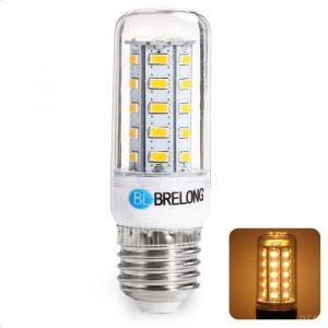 BRELONG E27 7W SMD 5730 900LM LED Lampara de maiz