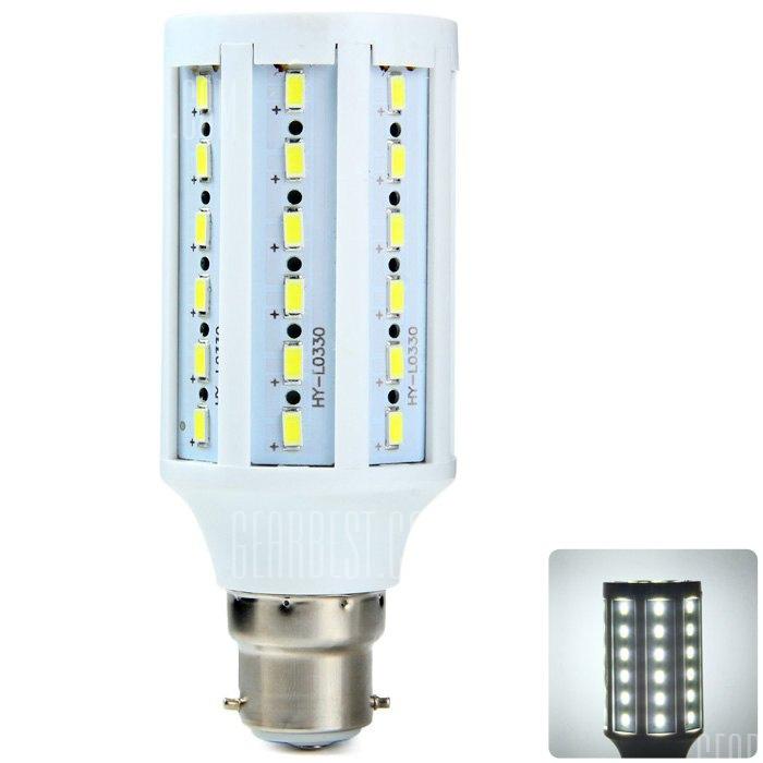 BRELONG B22 15W SMD LED Lampara de maiz 5730