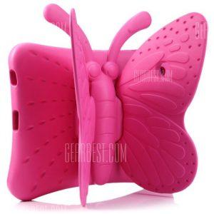 Estilo mariposa tratar el caso de espuma EVA para iPad 2 3 4 con soporte