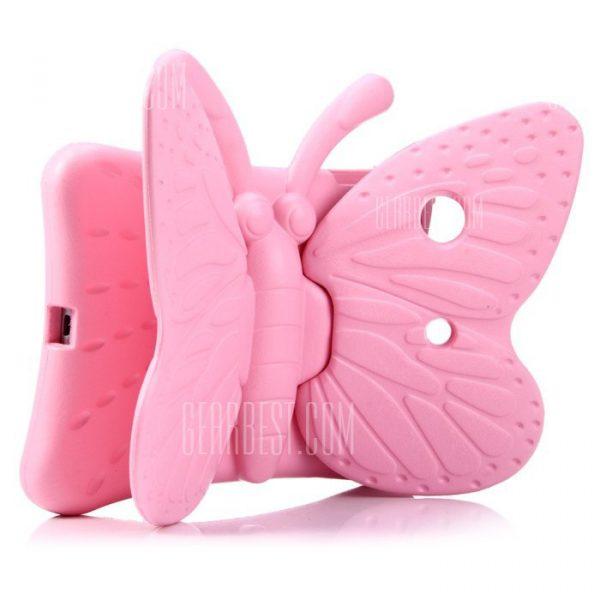 Estilo mariposa tratar el caso de espuma EVA para iPad Mini con soporte