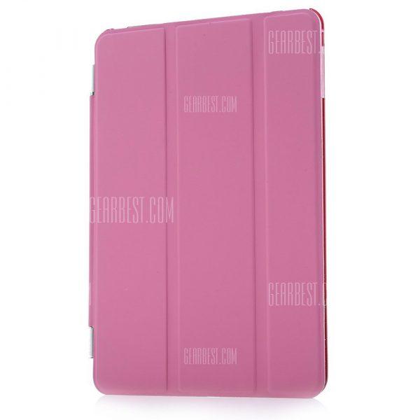 Cuero magnetico duro Smart Cover VOLVER Caso para iPad Mini 4