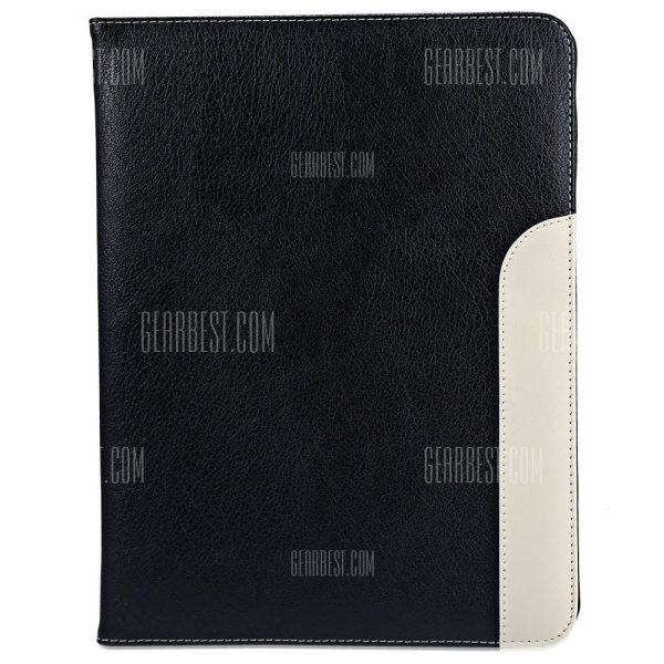 Cubierta de la caja de soporte inteligente de cuero para iPad 2 3 4