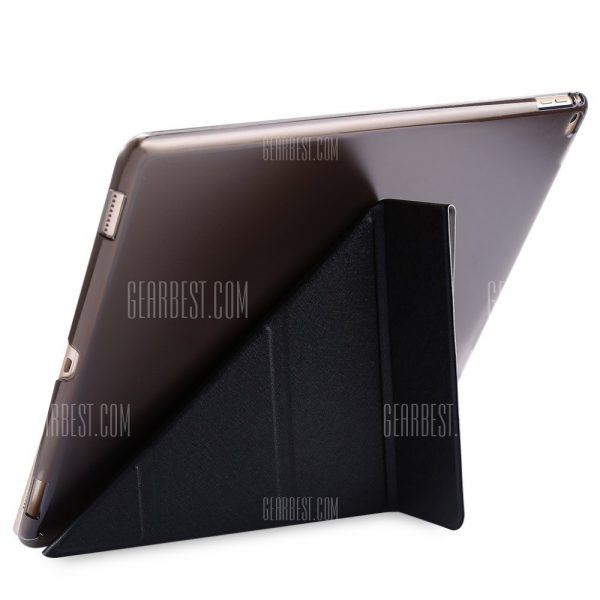 Multi-Smart Cover se pliega Hard Back caso para iPad Pro
