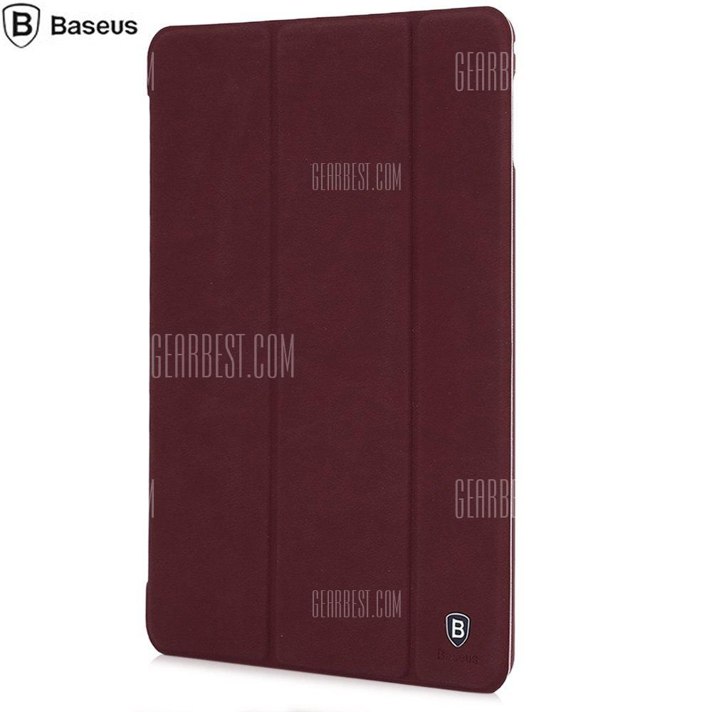Cuero Basues + PC Caso de cuerpo completo de la piel cubierta de soporte plegable para iPad Mini 4