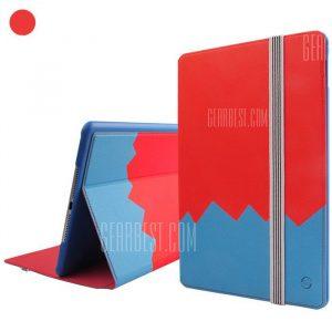 Fengshang Moshuo Serie PU llena la funda para el iPad 2 de aire