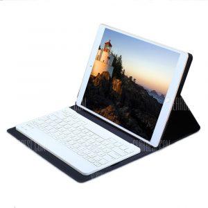 Teclado inalambrico Bluetooth Funda de cuero pu con soporte para iPad Pro