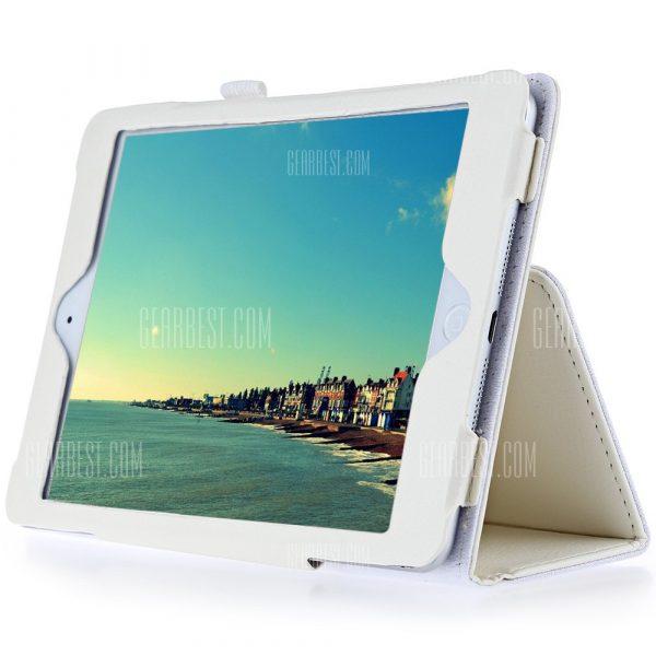Ultra Slim lichi lineas caso para iPad Mini 4