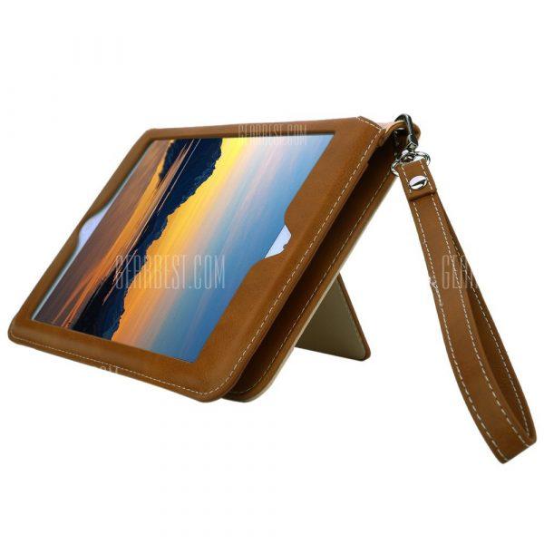 Funda de cuero multifuncion para iPad Air