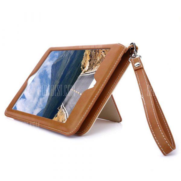 Funda de cuero multifuncion para el iPad 2 / 3 / 4