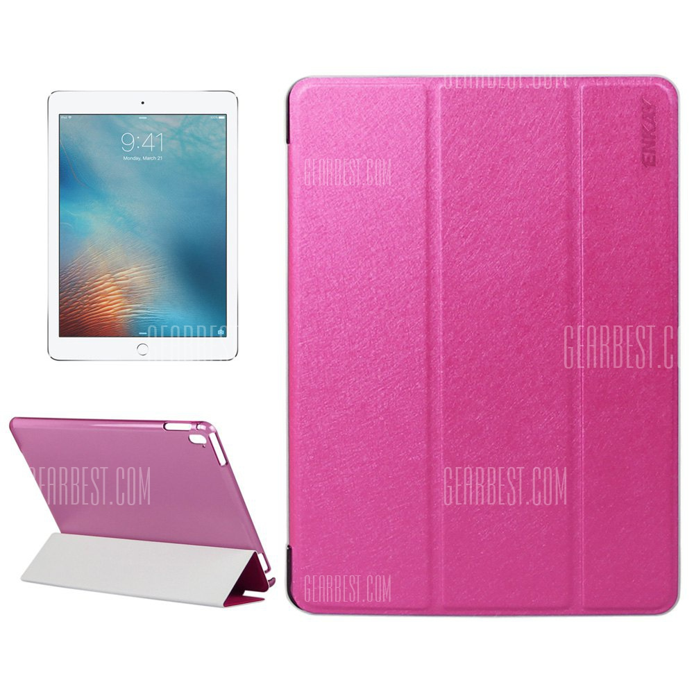 Impresion de seda ENKAY Funda protectora de cuero pu para iPad Pro 9.7 pulg.