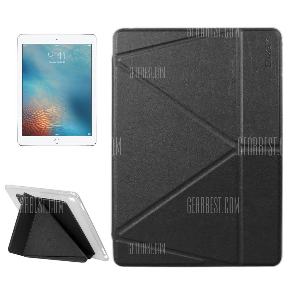 Funda protectora de cuero PU ENKAY para iPad Pro 9.7 pulg.
