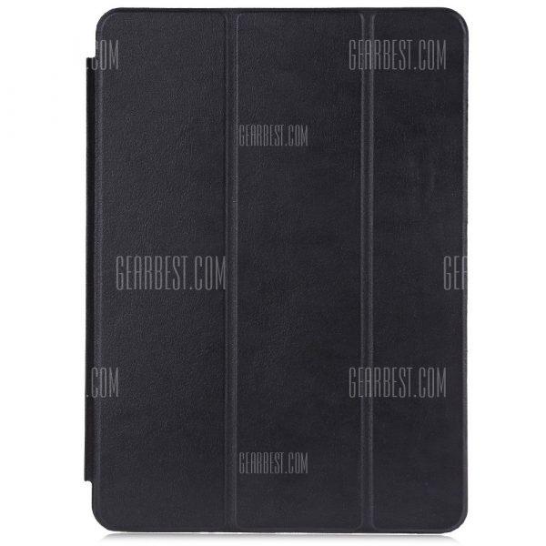 Ultra delgada cubierta de cuero pu para iPad Air