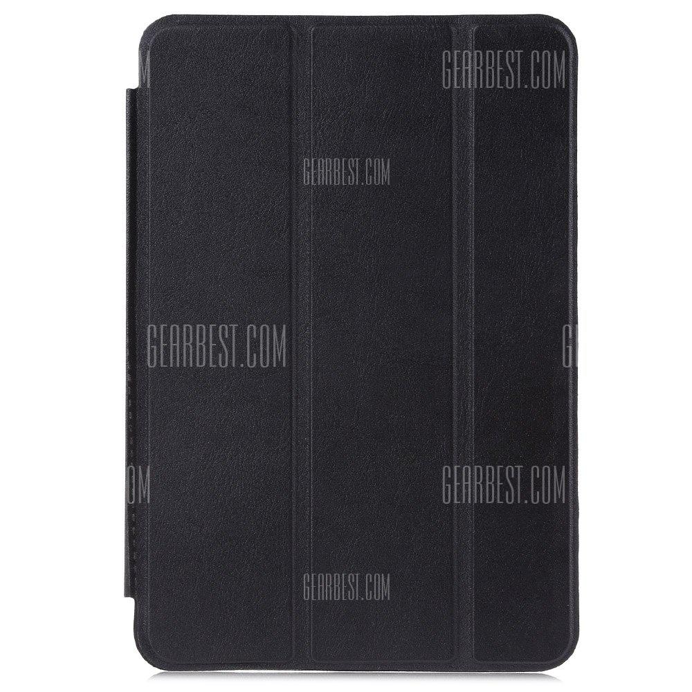 Ultra delgada cubierta de cuero pu para iPad Mini 4