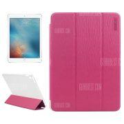 Impresion de pantalla ENKAY cuero pu caso protectora para iPad Pro 9.7 pulg.