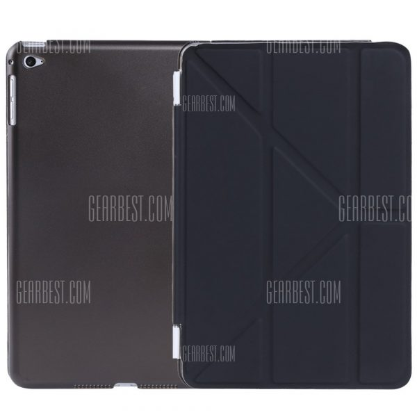 Ultra Slim de cuero pu cubierta de suspension inteligente para iPad Mini 4