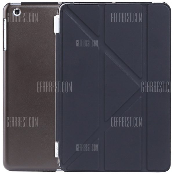 Ultra Slim de cuero pu cubierta de suspension inteligente para iPad mini 1 / 2 / 3