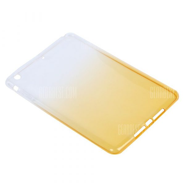 TPU volver de Tablet PC Funda para el iPad mini 1 / 2 / 3